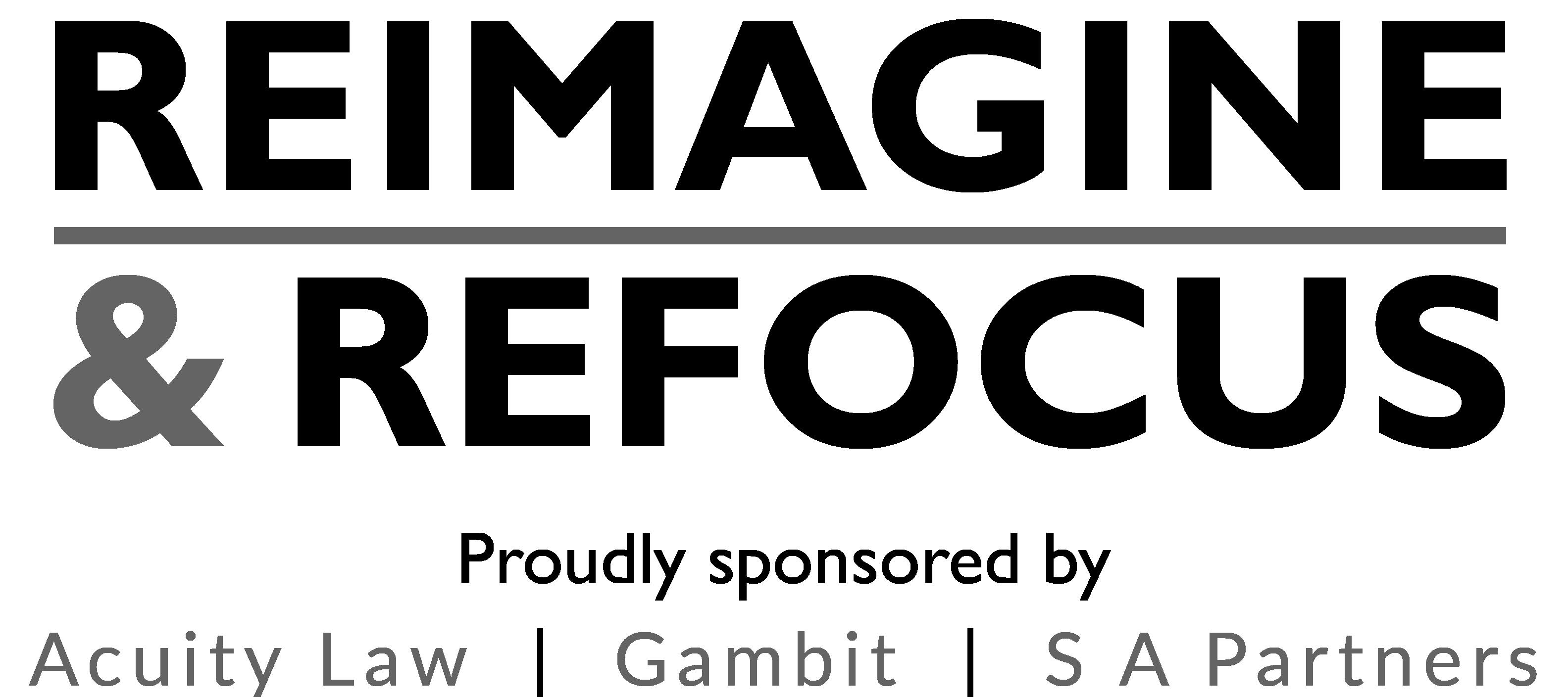 Reimagine & Refocus logo