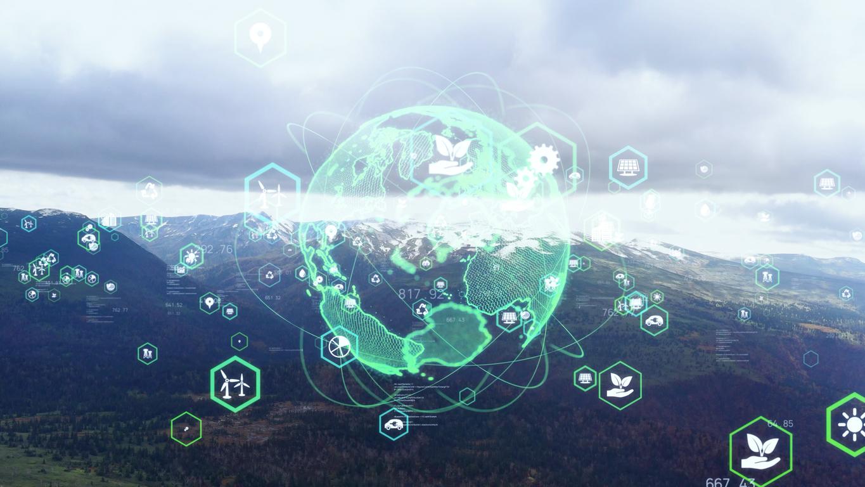 Environmental technology concept